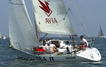 Sponzorship - DEA Yacht Team completing the 9th China Cup International Regatta